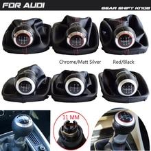Lever-Handball Car-Gear-Shift-Knob AUDI 5/6-Speed for A6 C5 1997-2001 /A4 /A8 D2 D2