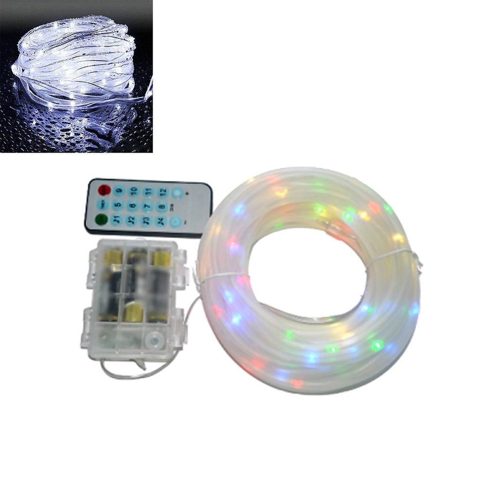 Светодиодный светильник на веревке с дистанционным голосовым управлением и регулируемой яркостью, водонепроницаемый светильник для