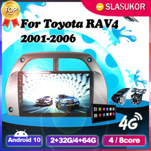 Android 10 Multimedia WIFI RDS Video Car Radio For Toyota RAV4 2001 2002 2003 2004 2005