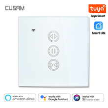 Tuya Smart Life WiFi Curtain Blind Switch for Roller Shutter Electric motor Google Home Alexa Siri Voice Control DIY Smart Home