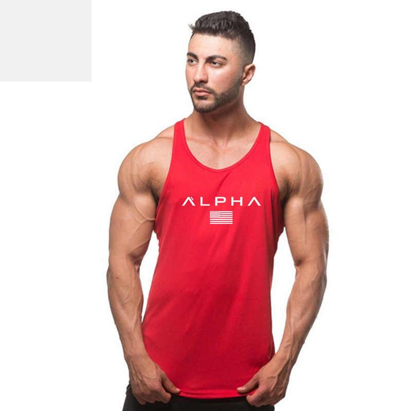 Marke Neue Plain Tank Top Männer Bodybuilding singulett Turnhallen Stringer Ärmelloses Shirt Blank Fitness Kleidung Sportwear Muscle Weste