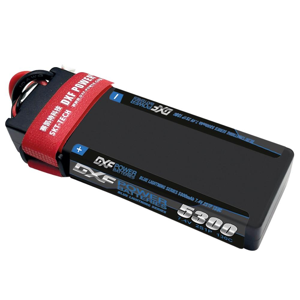 Dxf 5300 mah bateria lipo 130c 7.4