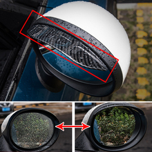 Car Side rear mirror rain guard Modification For BMW MINI COOPER S JCW F54 F55 F56 F60 R55 R56 R60 R61 Car accessories exterior все цены