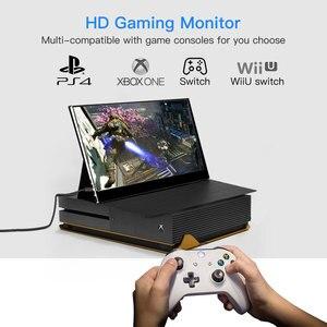 """Image 3 - Eyoyo EM15F 15.6 """"przenośny ekran dotykowy HDMI LCD Monitor gamingowy IPS FHD 1920x1080 HDR typ USB C wyświetlacz na telefon PC Xbox one"""