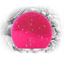 Usb Charging Waterproof Silicone Face Massager Vibration Facial Cleansing Brush Skin Blackhead Removal Pore Cleanser