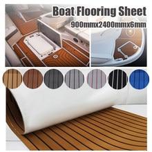 900x2400x5mm eva espuma falso teca decking folha não skid auto adesivo barco deck anti-fadiga esteira iate piso almofada