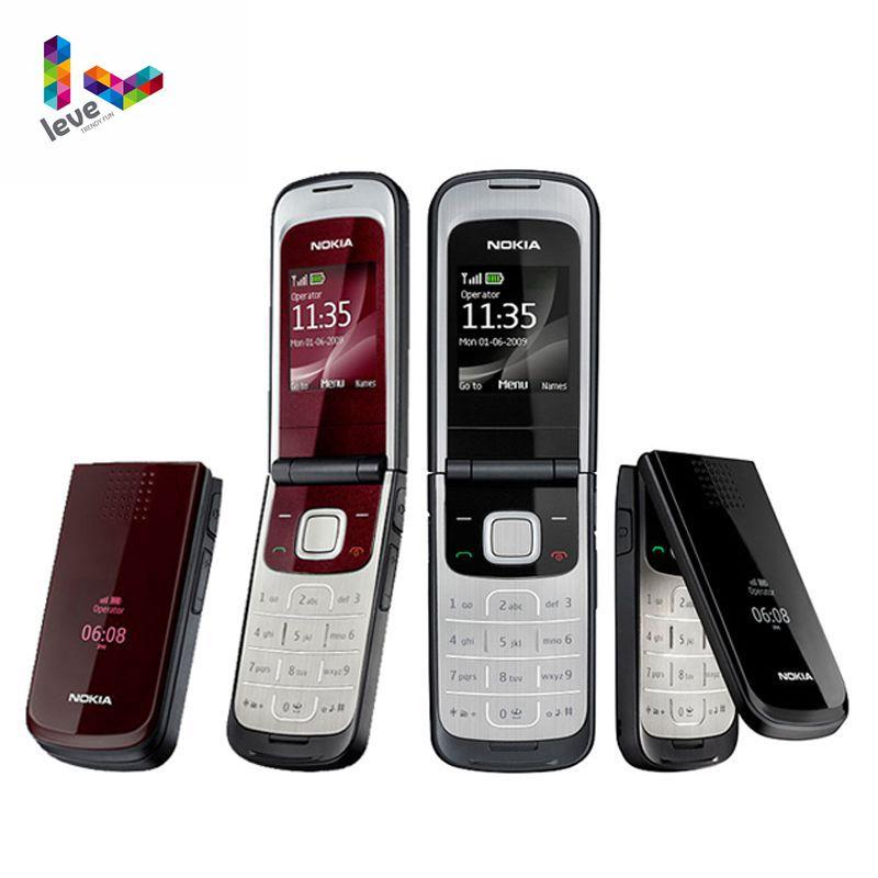 Original Entsperrt Nokia 2720 Falten Unterstützung Russisch & Arabisch Tastatur Freies Verschiffen Günstigstes Handy