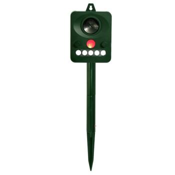 Ultrasonic Repellent Bird Repellent Outdoor Camping Animal Repellent Garden Outdoor Deworming Infrared Light Flashing Sound And