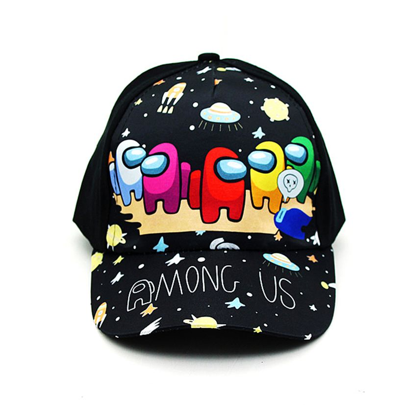 New 1 8 Years Children Hat Cartoon Game Baseball Cap Kids Cotton Snapback Fashion Hat Hip Hop Boys Girls