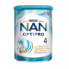 Смесь молочная Optipro Nestle NAN 4, с 18 мес., 400 г