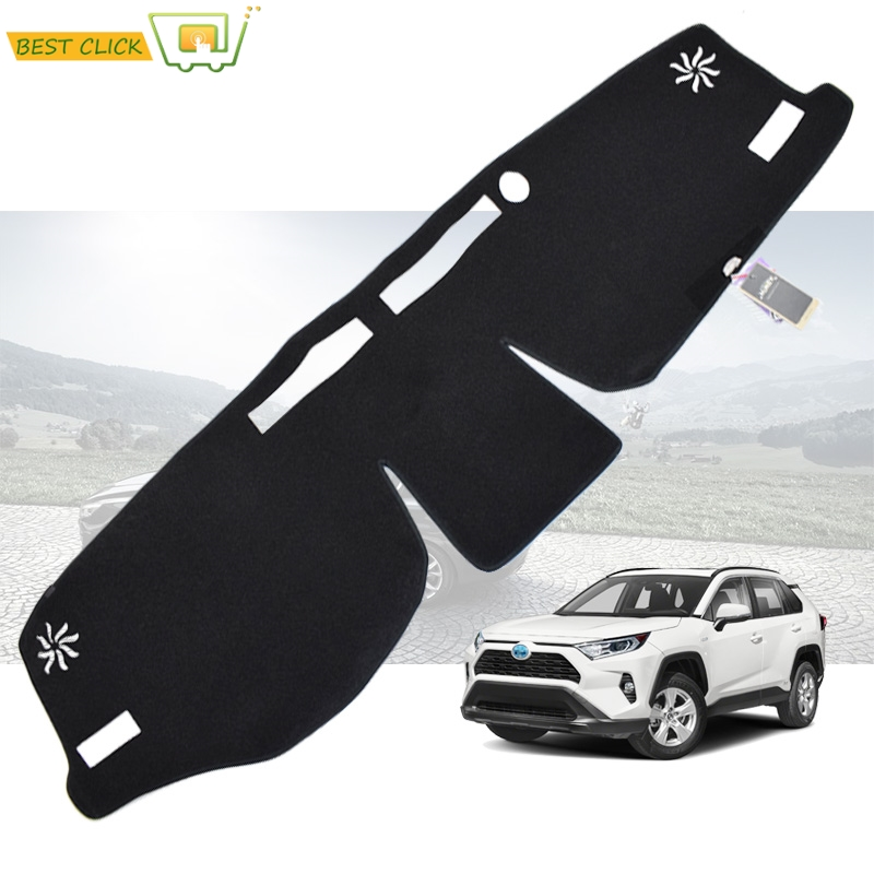XUKEY For Toyota RAV4 RAV 4 XA50 2019 2020 Dash Mat Anti-Slip Mat Dashboard Cover Dashmat Carpet Accessories Sun shade Pad
