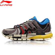 Li Ning Men PFW FURIOUS RIDER ACE Professional รองเท้าวิ่งสวมใส่เบาะซับ Li Ning Stable กีฬารองเท้า ARZN005 XYP804