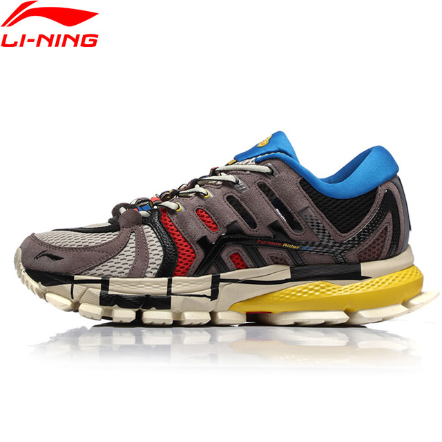 Li Ning Men PFW FURIOUS RIDER ACE Professional Running Shoes Wearable Cushion LiNing li ning Stable Sport Shoes ARZN005 XYP804