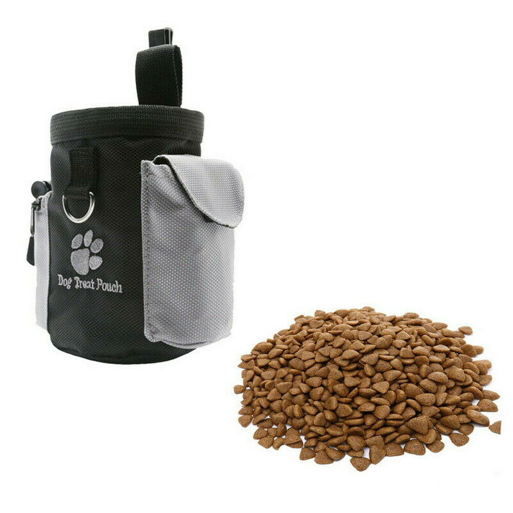 Pets Dog Puppy Obedience Training Treat Bag Feed Bait Food Snack Pouch Belt Drawstring Wasit Clamp Packs