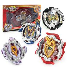 цена на GloryStar XD168-9 Children Gyro Toy Kids Gyroscope Set Repeatedly Play Fighting Gyro With Launcher Spinning Top Blade Toys