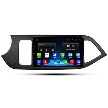 2020 9 4G LTE Android 10.0 For KIA PICANTO Morning 2011 2012 2013 2014 Multimedia Stereo Car DVD Player Navigation GPS Radio image