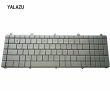 YALUZU جديد الروسية تخطيط الفضة لوحة مفاتيح الكمبيوتر المحمول ل Asus N55 N55S N55SL N55SF N55X N75S N75SF N75SL الفضة استبدال لوحة المفاتيح