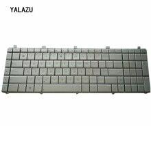 YALUZU NEW Russian Layout Silver Laptop Keyboard for Asus N55 N55S N55SL N55SF N55X N75S N75SF N75SL Silver replacement keyboard