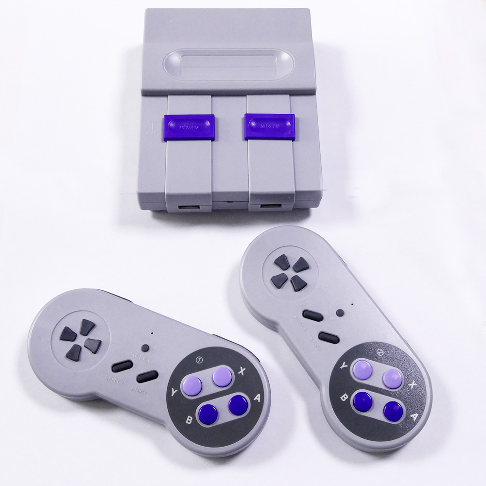 Wireless Mini Classic Retro Handheld Game Console TV Game Player With 630/500 Games ,AV out