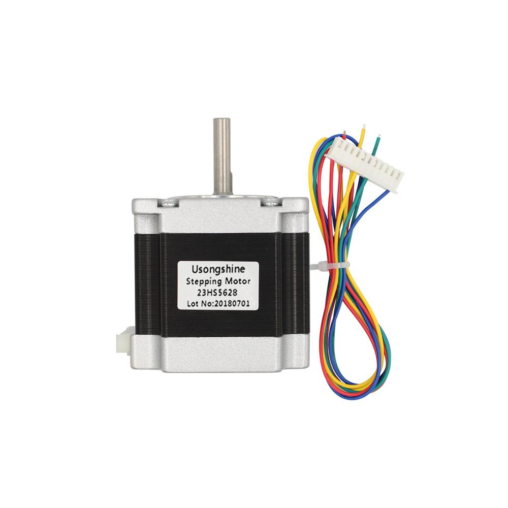 Usongshine Nema 23 23HS5628 Stepper Motor 57 motor 2.8A with TB6600 4A stepper motor driver NEMA17 23 for CNC and 3D printer