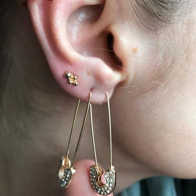 fun shapes earrings 5