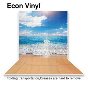 Image 3 - Allenjoy photophone backdrops Summer sky sea beach ocean waves Natural scenery sand photographic background photocall photobooth