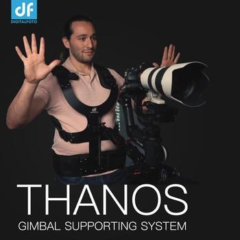DF DIGITALFOTO THANOS gimbal sistema de soporte resorte amortiguador brazo y chaleco Steadicam para DJI Ronin S Crane 2 Moza Air 2