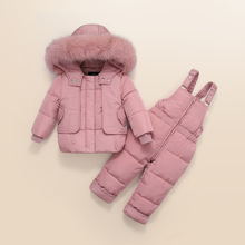 New Children Down Jacket Out Clothing Winter Ski Clothes For Girls Outerwear Jackets Coats