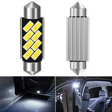 2X 4X C5W Canbus Дневной светильник гирлянда 41 мм интерьер автомобиля светильник для Mazda CX-5 Alfa Romeo jeeprenegade Smart Fortwo Opel Peugeot