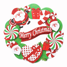 Christmas Decorations, Christmas paper, 3D, garland ornaments, hotel decoration, shopping mall window, door hanging