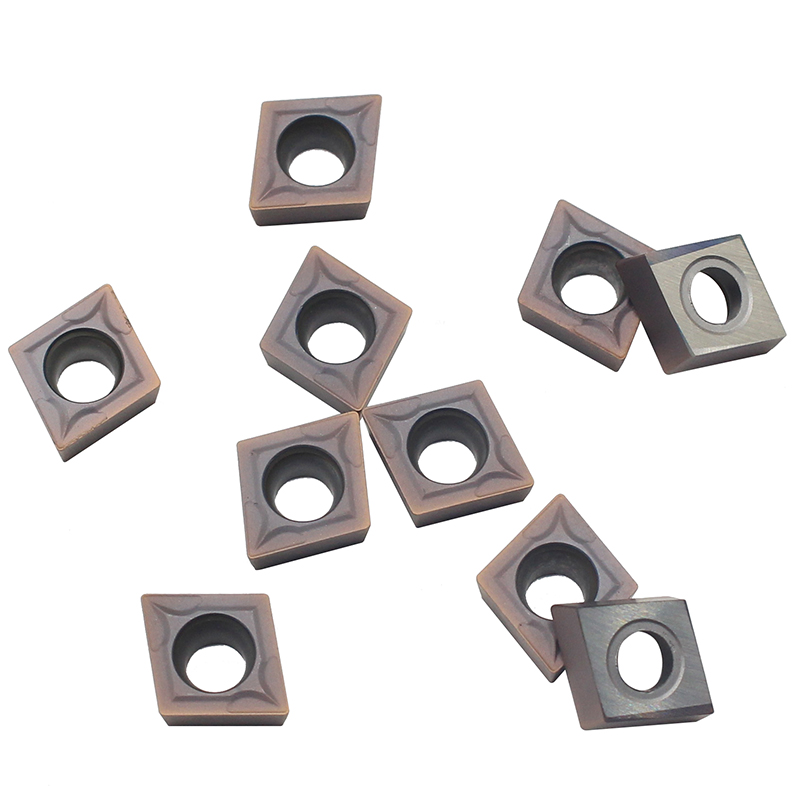 Купить с кэшбэком CCMT09T304 VP15TF High quality Carbide inserts Internal Turning Tools Cutting Tool CNC Lathe cutter