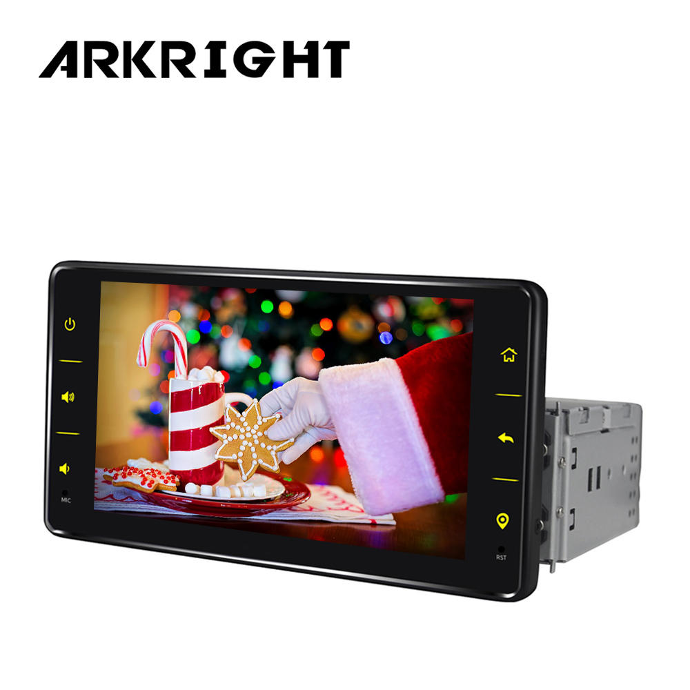 6.2'' 1 din android car radio stereo audio intel <font><b>SC9853</b></font> with 4G sim card universal head unit mirror link/GPS/DVR/SWC rear camera image