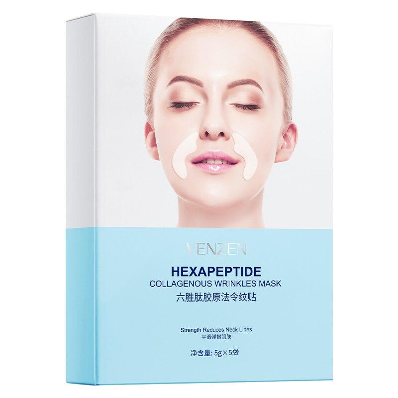 10 Pcs VENZEN facial mask hexapeptide  collagen wrinkles sheet mask