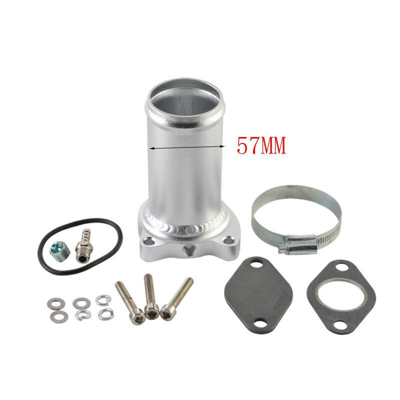 57MM EGR Valve Replacement Pipe  Suit For Audi Seat VW 1.9 TDI 130/160 BHP  2.25inch Diesel Egr Delete Kits