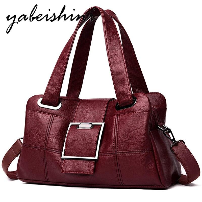 Fashion Women Luxury Handbags Women Bags Designer Shoulder Bag Sac A Main Brand Leather Crossbody Bag For Women 2019 Bolso Mujer