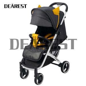 DEAREST детская коляска из эко-кожи, складная переносная коляска с большим колесом umberlla, мини легкие палантины, оптовая продажа, Бесплатная дос...