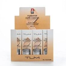 TLM меняющая цвет основа профессиональная меняющая цвет макияж для лица водонепроницаемый макияж подарок уход за кожей Жидкая основа