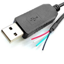 Sinforcon extremo de cable medio dúplex ftdi usb rs485 cable adaptador rs485 a convertidor usb(China)