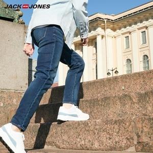 Image 3 - Jackjones Mannen Soft Stretch Slim Fit Denim Jeans Basic 219332585