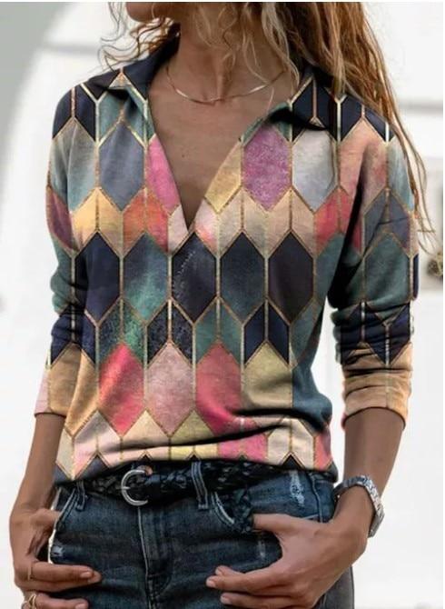 Aprmhisy Graphic Shirts Women Autumn New Long Sleeve Casual Streetwear Blouse Shirt Blusas Femininas 18