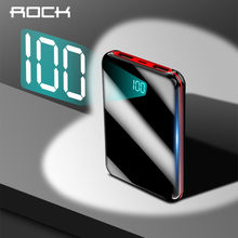 Mini Power Bank 10000mAh Portable Charge LED Display Dual USB Port External Battery Portable Paverbank Charger For Xiaomi Phone(China)