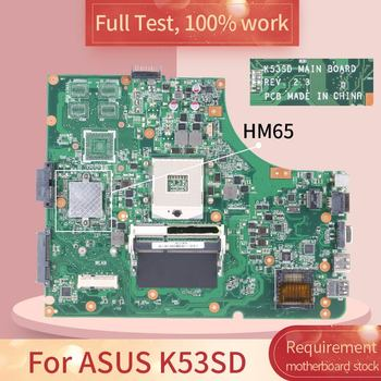 K53SD For ASUS K53SD REV 2.3 HM65 Notebook motherboard Mainboard full test 100% work