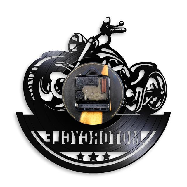 Motorcycle Wall Clock 4