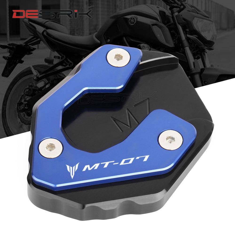 Для Yamaha MT07 MT 07 MT-07, 2019, 2018, 2017, 2016, 2015, 2014, аксессуары для мотоциклов с ЧПУ, подножка, боковая подставка, удлинитель