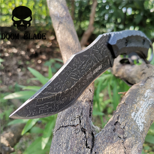 Image 1 - Fixed Blade Knife 8CR13MOV Steel Blade Nylon Sheath Combat Knives Good for Hunting Camping Survival Outdoor and Everyday Carry
