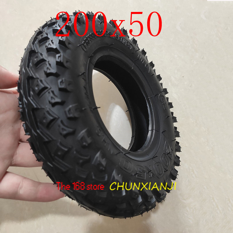 "Image 5 - High Quality (8"" X 2"") 200X50 (8 Inch)Tire Fit for Electric Gas Scooter & Electric Scooter(inner Tube Included) Wheelchair Wheel-in Tyres from Automobiles & Motorcycles"