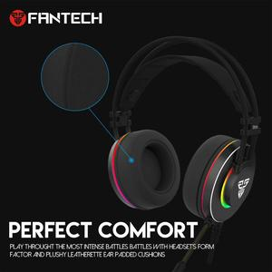 Image 4 - FANTECH HG23 Headphone Personalize With Octane 7.1 RGB USB Just Wired Gaming Headset Alloy Earmuffs For PC PS4 Gaming Headphones