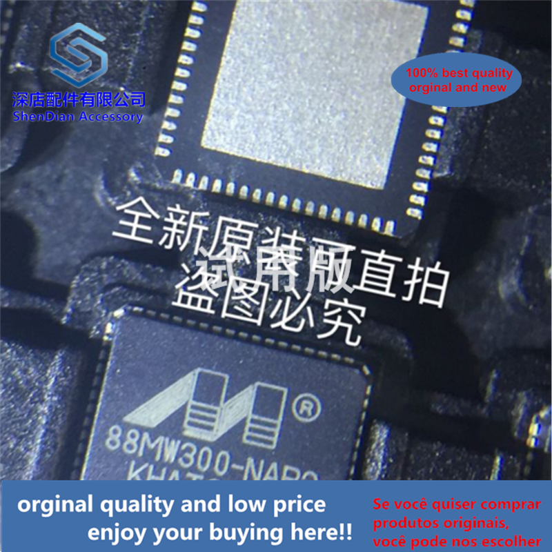 1pcs 100% Quality Orginal New 88MW300-NAP2 QFN68 88MW300 88MW300-A1-NAP2P Best Qualtiy