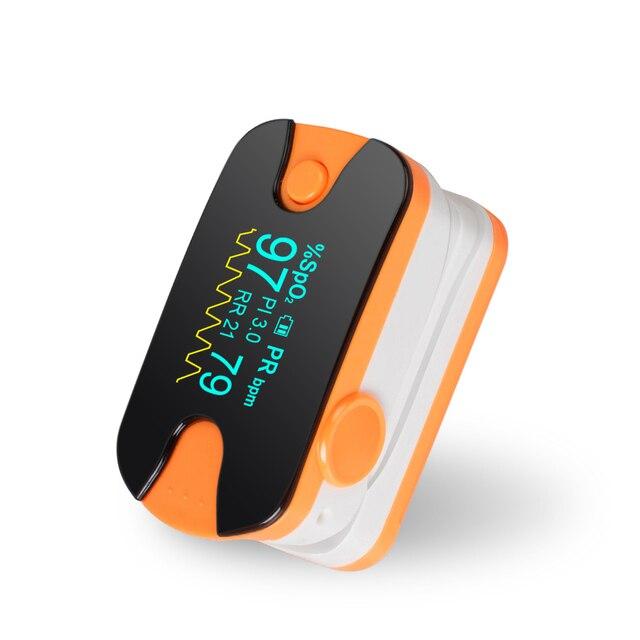 Finger pulse oximeter spo2/pr fingertip oxygen monitor spo2 pr home health care *medcert*
