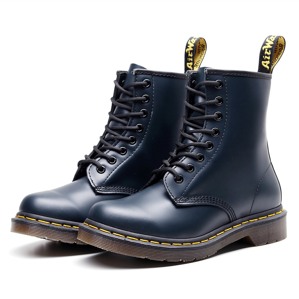 Ankle Boots Genuine Leather Men Boots For Martin boots Dr Motorcycle Shoes Warm Winter Shoes Men Plus Size 48 Boots Men 39 S